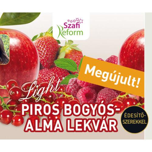 Szafi Reform Lekvár piros bogyó-alma 350 g