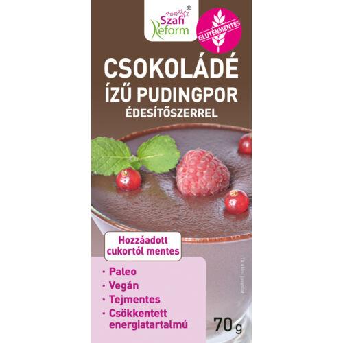 Szafi Reform Csokoládés pudingpor 70 g