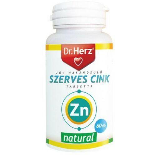 Dr. Herz Szerves cink tabletta 60 db