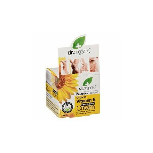 Dr. Organic Bio E vitaminos hidratáló krém 50 ml