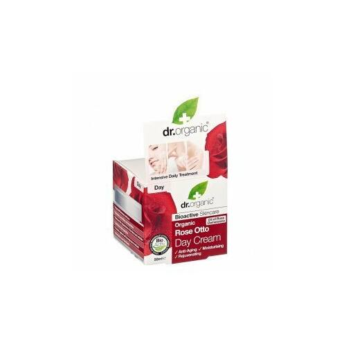 Dr. Organic Bio rózsa nappali krém 50 ml