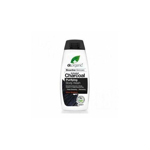 Dr. Organic Bio aktív szén tusfürdő 250 ml