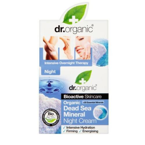 Dr. Organic Bio holt-tengeri éjszakai krém 50 ml