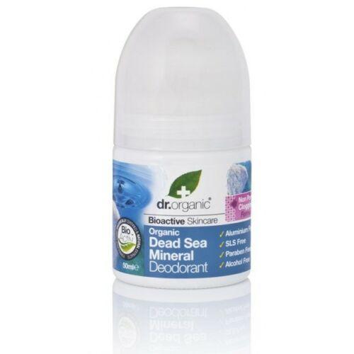 Dr. Organic Bio holt-tengeri alumíniummentes golyós deo 50 ml