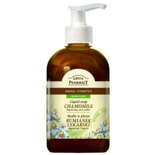Green Pharmacy Folyékony szappan kamilla 465 ml