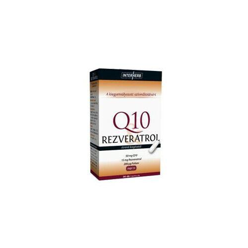 Interherb Napi 1 Q10 rezveratrol kapszula 30 db