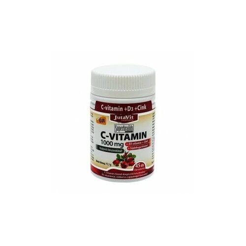 Jutavit C-vitamin 1000mg+D3+ Cink+Csipkebogyó kivonat tabletta 45 db