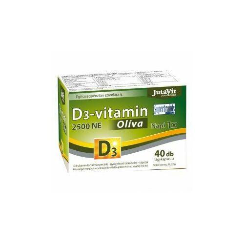 Jutavit D3-vitamin 2500 ne olíva kapszula 40 db
