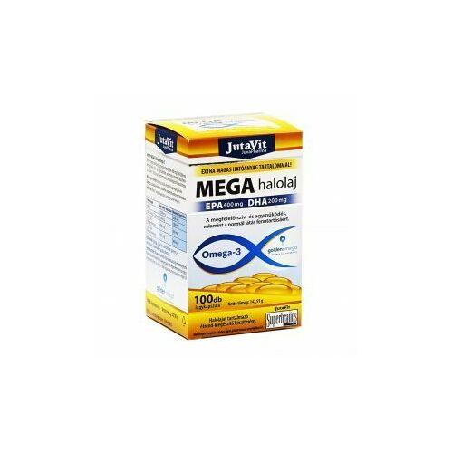 Jutavit Mega halolaj omega-3 lágykapszula 100 db