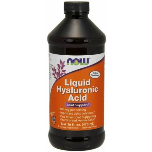 Now Liquid Hyaluronic Acid szirup 473 ml