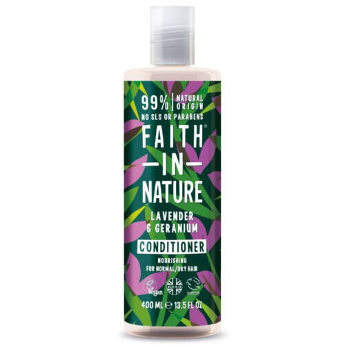 Faith In Nature Balzsam levendula-geránium 400 ml