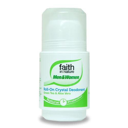 Faith In Nature Roll-on aloe vera-zöldtea 50 ml