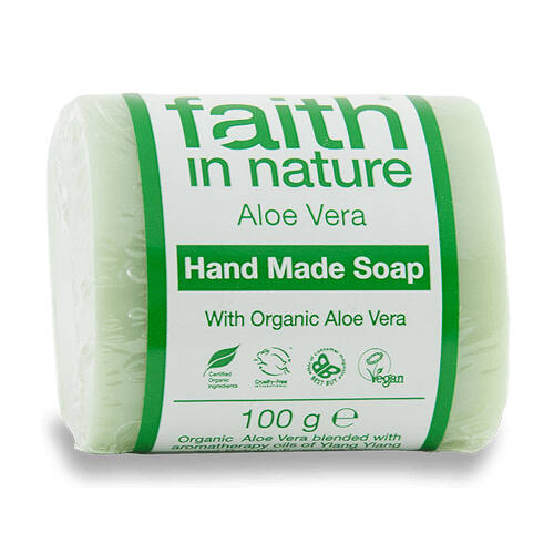 Faith In Nature Szappan aloe vera 100 g