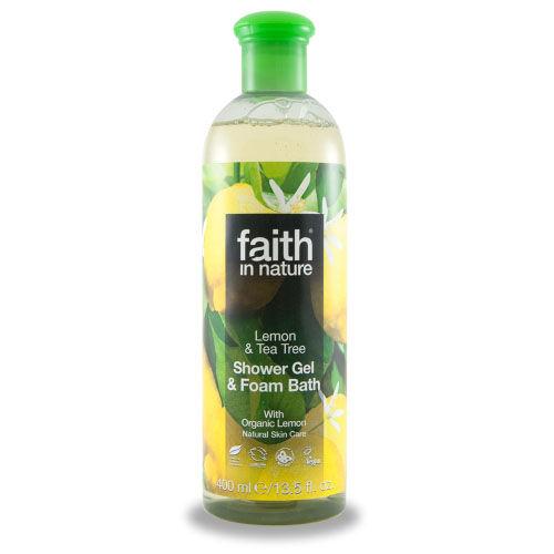 Faith In Nature Tusfürdő citrom-teafa 400 ml