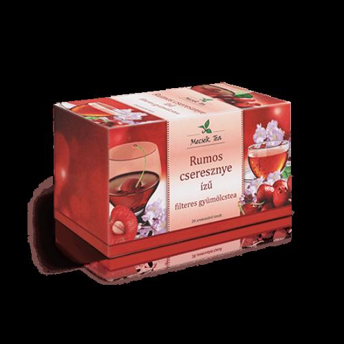 Mecsek Gyümölcstea rumos cseresznye 20 db