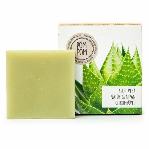 Pom Pom Aloe Vera natúr szappan négyzet 100 g