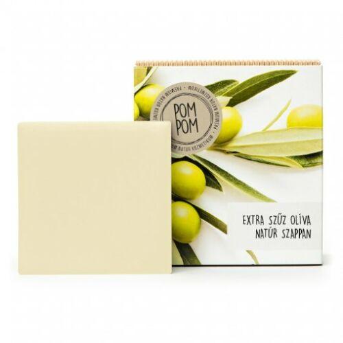 Pom Pom Extra szűz olíva natúr szappan négyzet 100 g