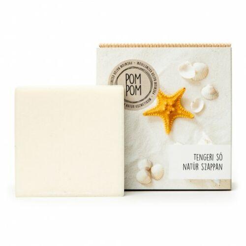 Pom Pom Tengeri só natúr szappan négyzet 120 g