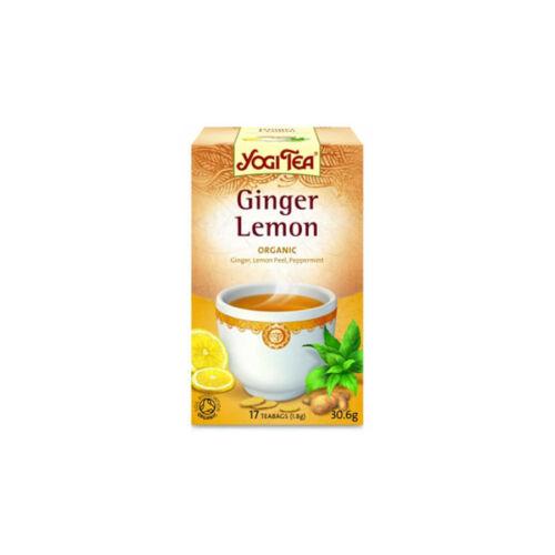 Yogi Bio Tea citromos gyömbér 17 db