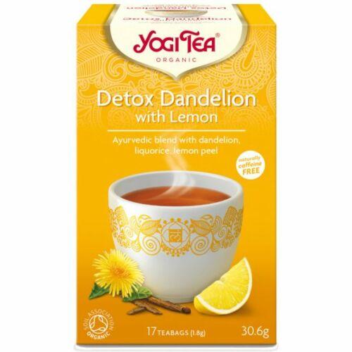 Yogi Bio Tea tisztító citrommal 17 db