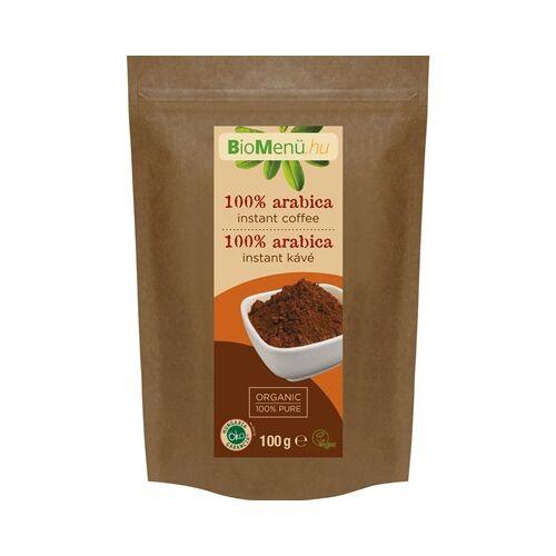 BioMenü Bio 100% arabica instant kávé 100 g