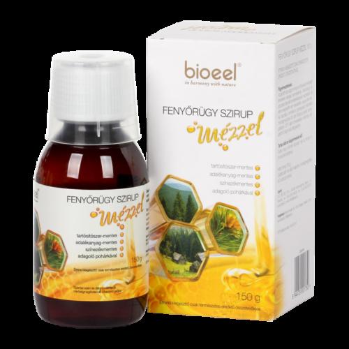 Bioeel Fenyőrügy szirup mézzel 150 g