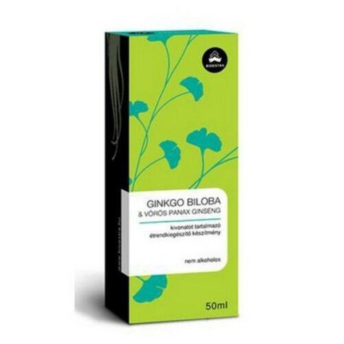 Bioextra Ginkgo Biloba- Vörös Panax Ginseng 50 ml