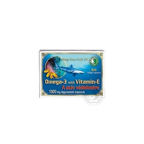 Dr. Chen Omega-3+ E-vitamin kapszula 1300 mg 60 db