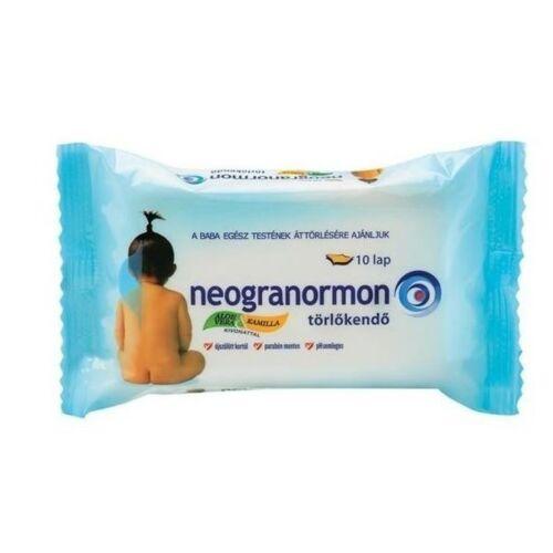 Neogranormon Törlőkendő aloe-kamilla 55 db