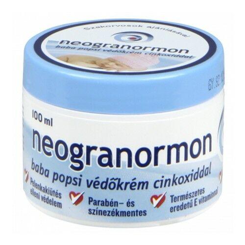 Neogranormon Védőkrém cinkoxiddal 100 ml