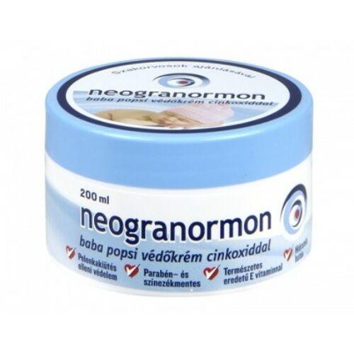 Neogranormon Védőkrém cinkoxiddal 200 ml