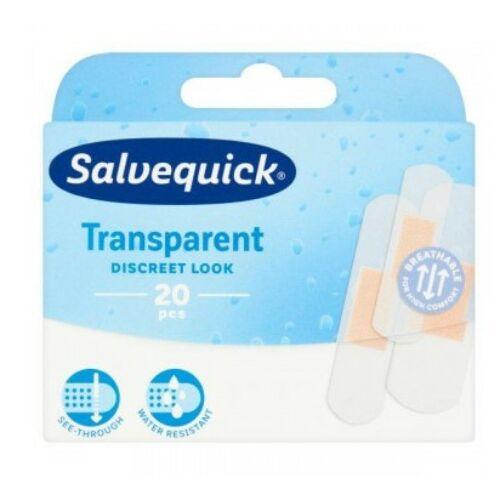 Salvequick Sebtapasz transparent 20 db