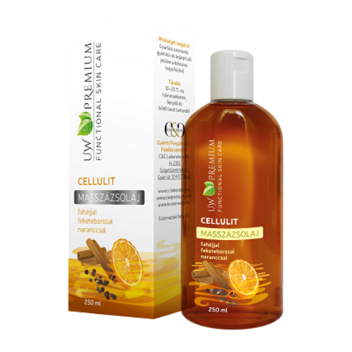 UW Premium Masszázsolaj cellulit 250 ml